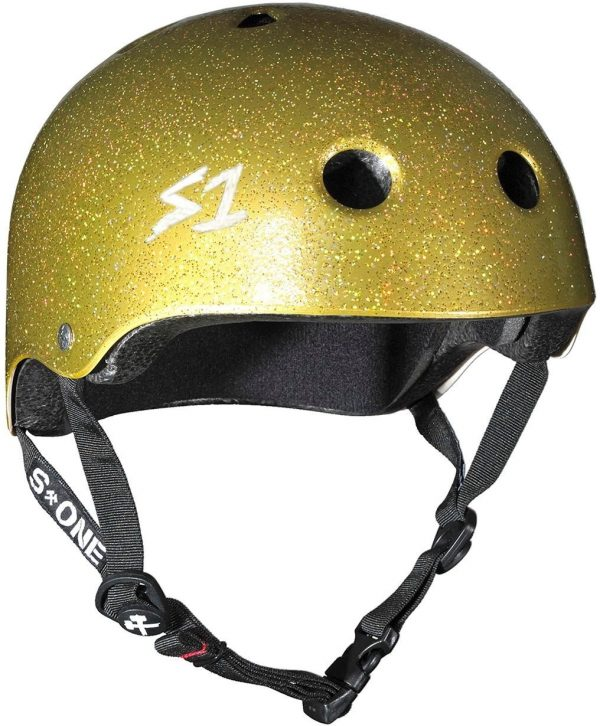 S-One Helmet Lifer (XS) Gold Glitter