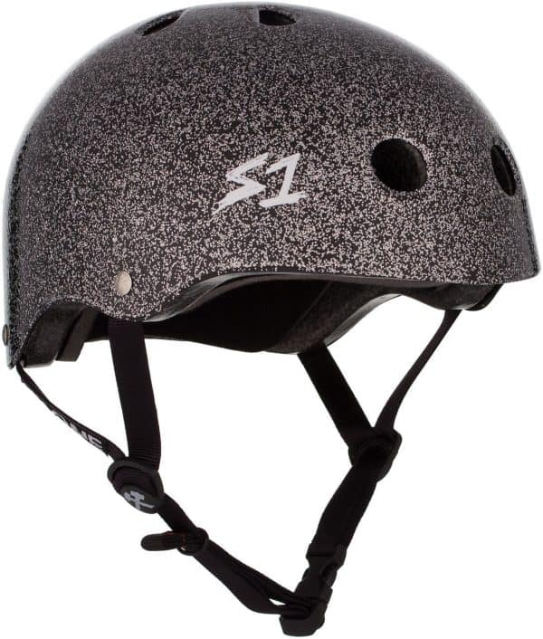 S-One Helmet Lifer (S) Black Gloss Glitter