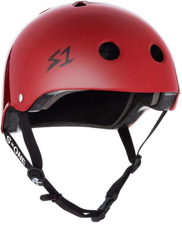 S-One Helmet Lifer (XS) Scarlet Red Gloss