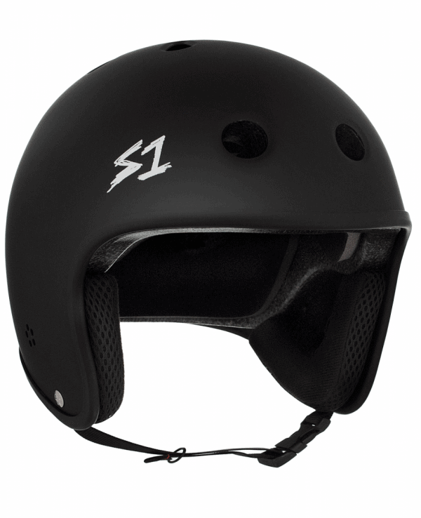 S1 Retro Lifer Certified Helmet Black Matte Cult Collaboration