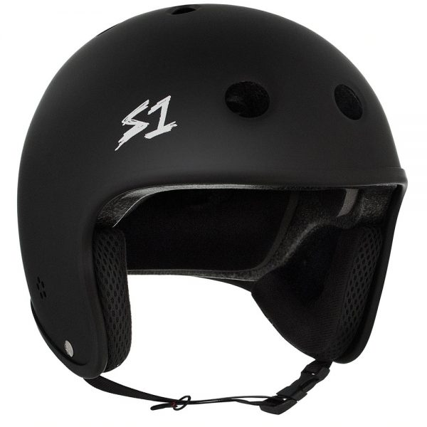 S-One Helmet Retro Lifer (XS) Cult Black Matte