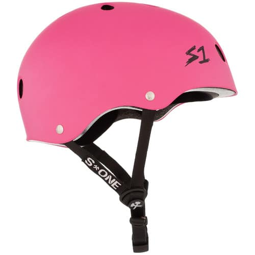 S1 Lifer Certified Helmet Pink Matte