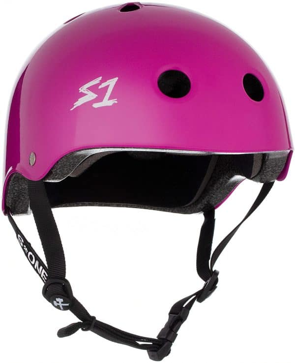 S1 Lifer Certified Helmet Bright Purple Gloss