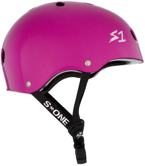 S-One Helmet Lifer (XS) Bright Purple Gloss