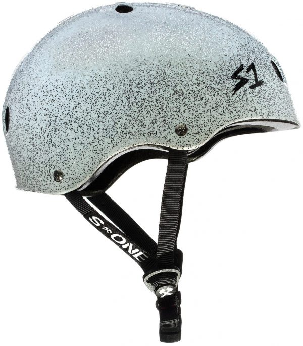S-One Helmet Lifer (XS) White Metal Flake Glitter