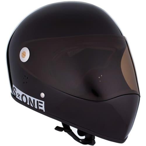 S-One Full Face Helmet Lifer (2XL) Black Gloss