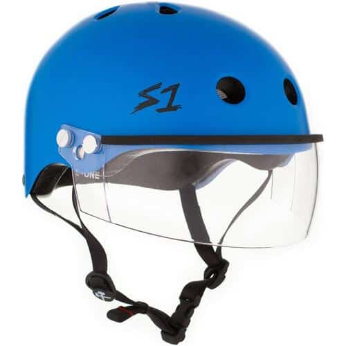 S-One Helmet Lifer Visor (XS) Cyan Matte