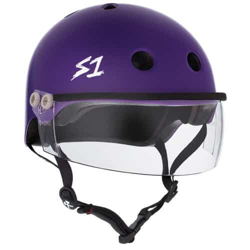 S-One Helmet Lifer Visor (XS) Purple Matte