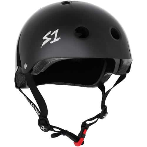 S-One Helmet Mini Lifer (XS) Black Gloss