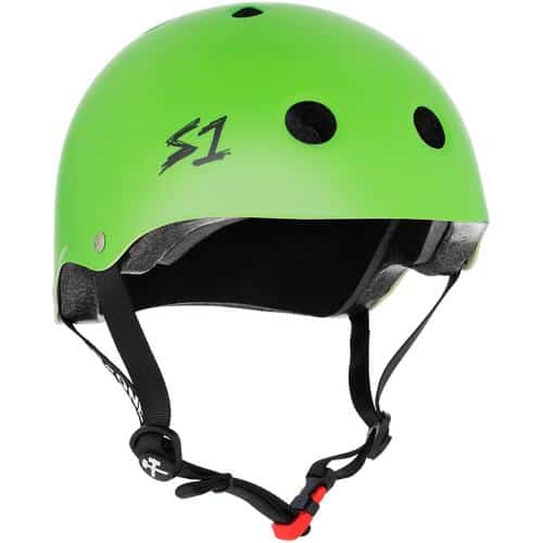 S-One Helmet Mini Lifer (XS) Bright Green Matte
