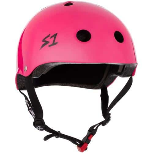 S-One Helmet Mini Lifer (XS) Hot Pink Gloss