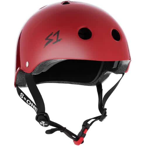 S-One Helmet Mini Lifer (XS) Scarlett Red Gloss