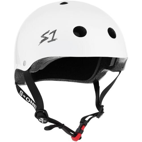 S-One Helmet Mini Lifer (XS) White Gloss