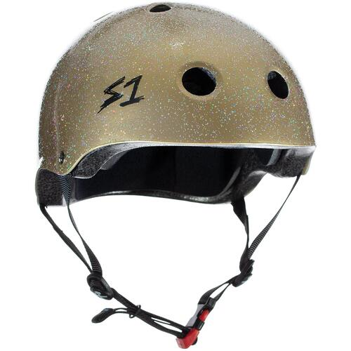 S-One Helmet Mini Lifer (XS) Gold Gloss Glitter